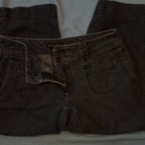 New york and company capri style jeans, sz 4